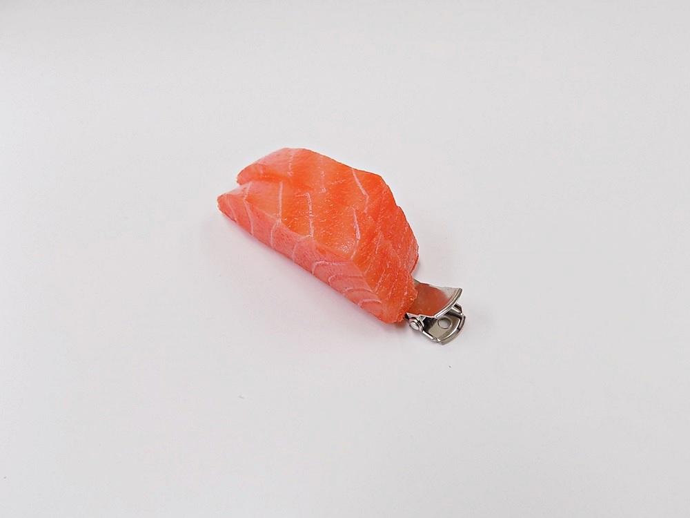 2 Cuts of Salmon Sashimi Hair Clip