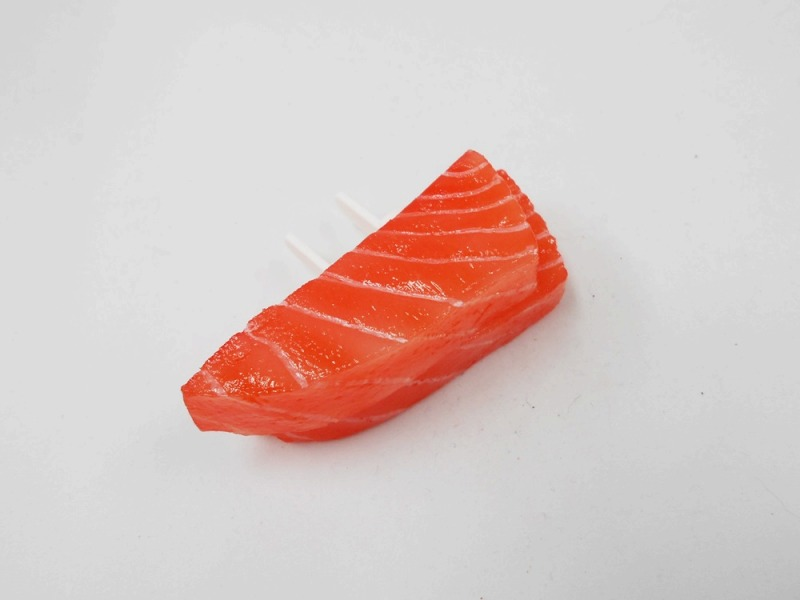 2 Cuts of Salmon Sashimi Outlet Plug Cover