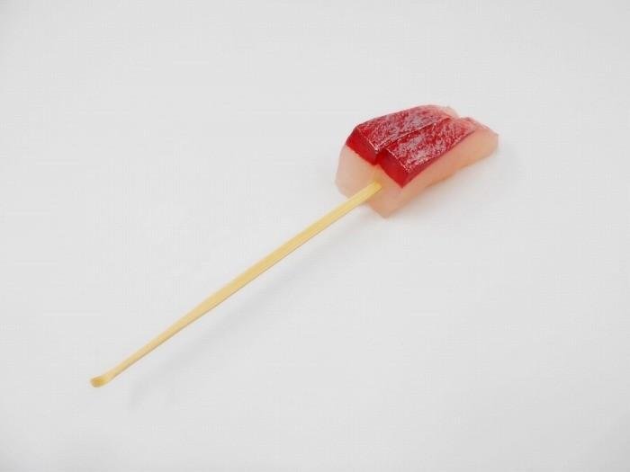 2 Cuts of Yellowtail Sashimi Ear Pick