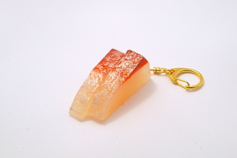 2 Cuts of Yellowtail Sashimi Keychain