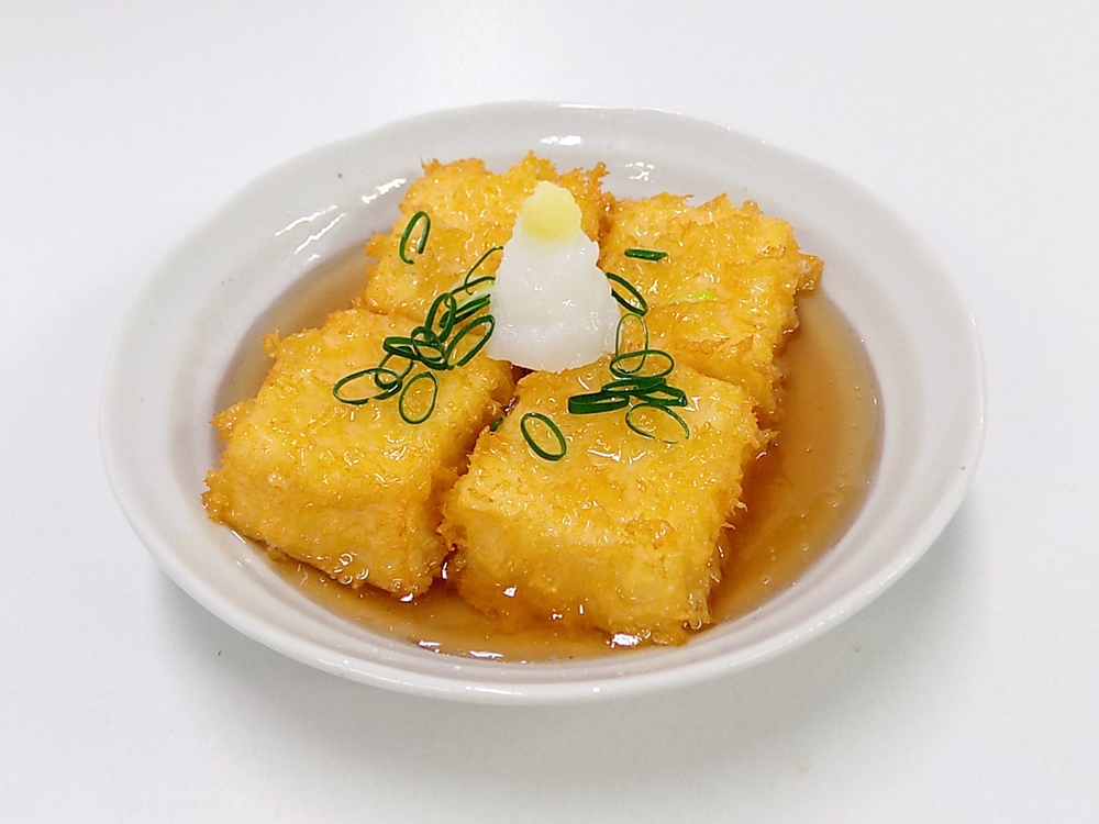 Age-dashi (Fried) Tofu Replica