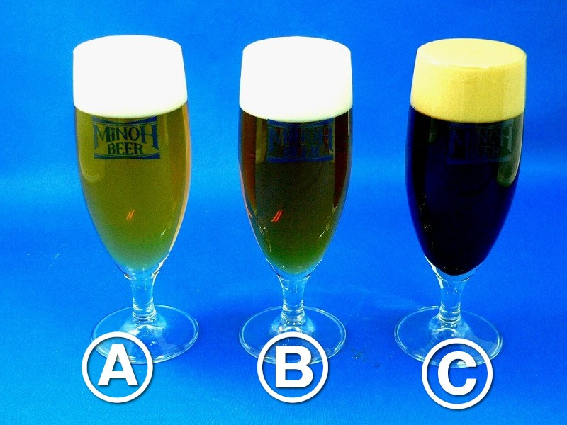 Assorted Glasses of Beer Replica