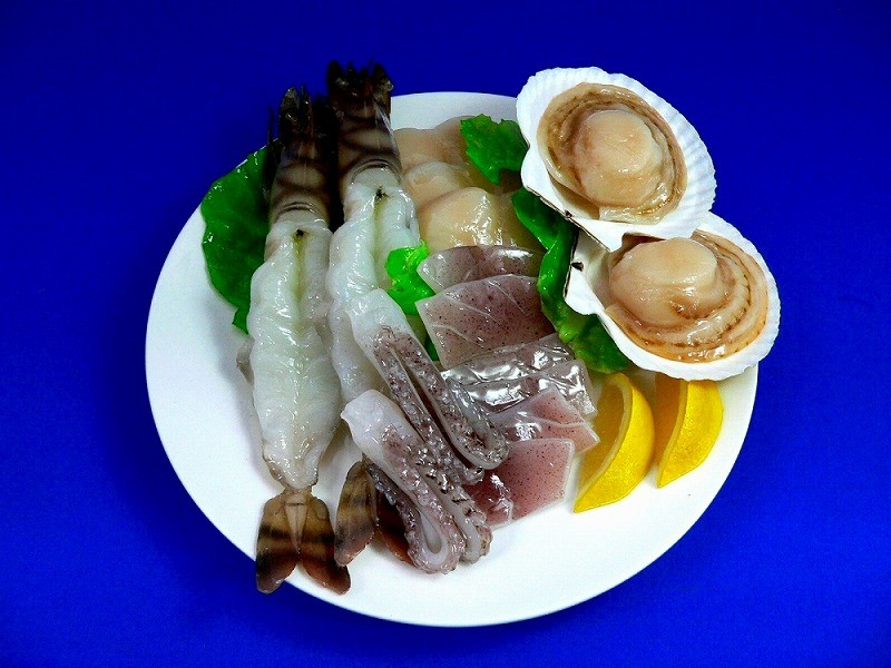 Assorted Seafood Replica
