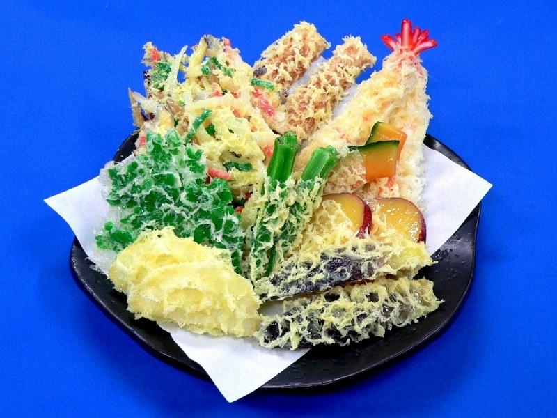 天ぷら盛合せ 3 食品サンプル