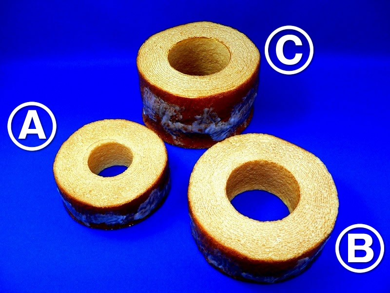 Baumkuchen Layered Cake Replica
