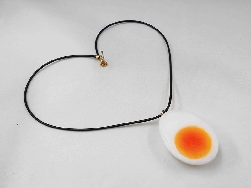 Boiled Egg Necklace