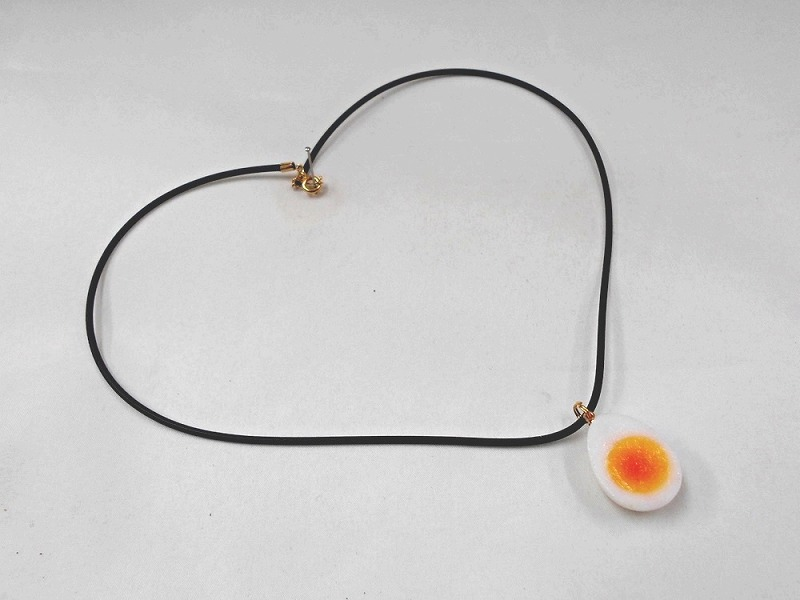 Boiled Quail Egg Necklace