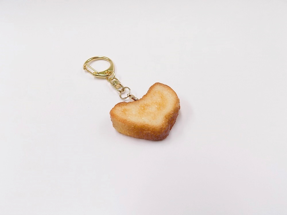 Bread (Heart-Shaped) Keychain
