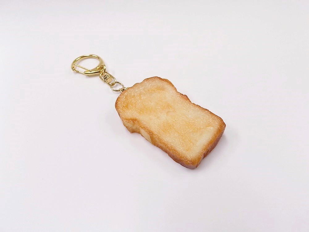 Bread Slice (large) Keychain
