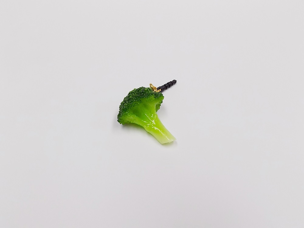 Broccoli (small) Headphone Jack Plug