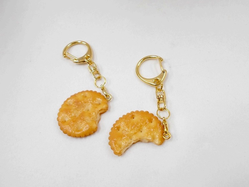 Broken Cracker Keychain