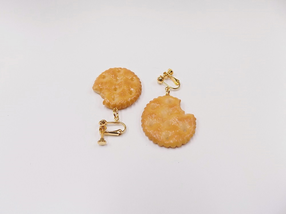 Broken Cracker Ver. 1 Clip-On Earrings
