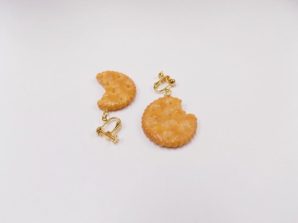 Broken Cracker Ver. 3 Clip-On Earrings