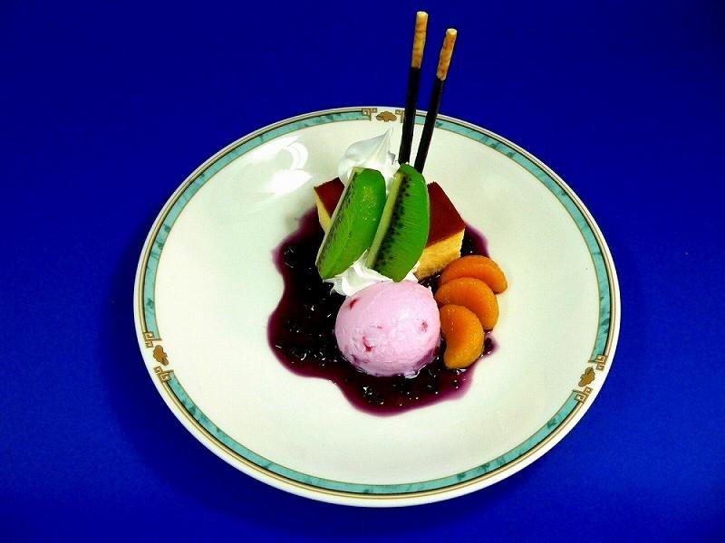 ケーキパフェ A 食品サンプル