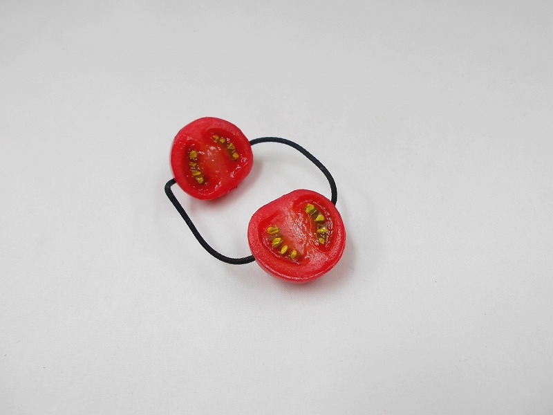 Cherry Tomato (half-size) Hair Band (Pair Set)