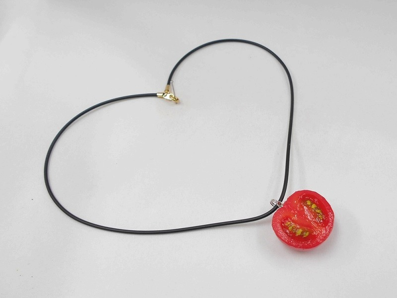 Cherry Tomato (half-size) Necklace