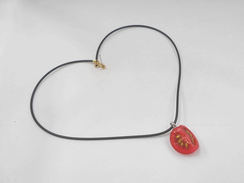 Cherry Tomato (quarter-size) Necklace