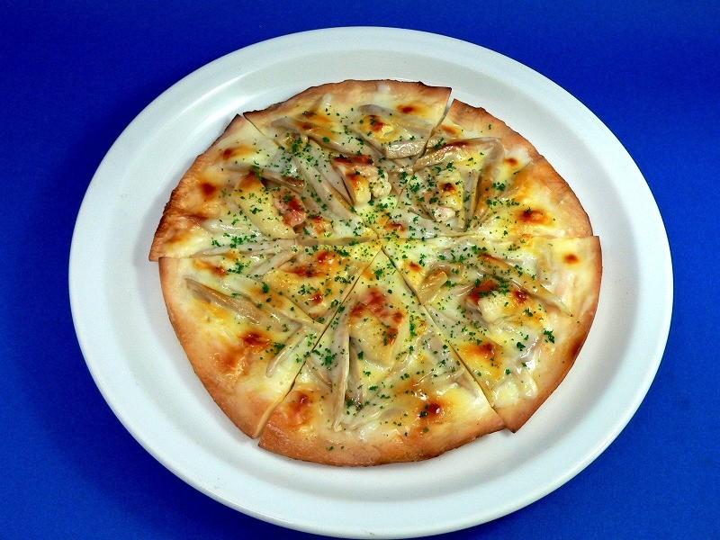鶏ごぼうピザ 食品サンプル