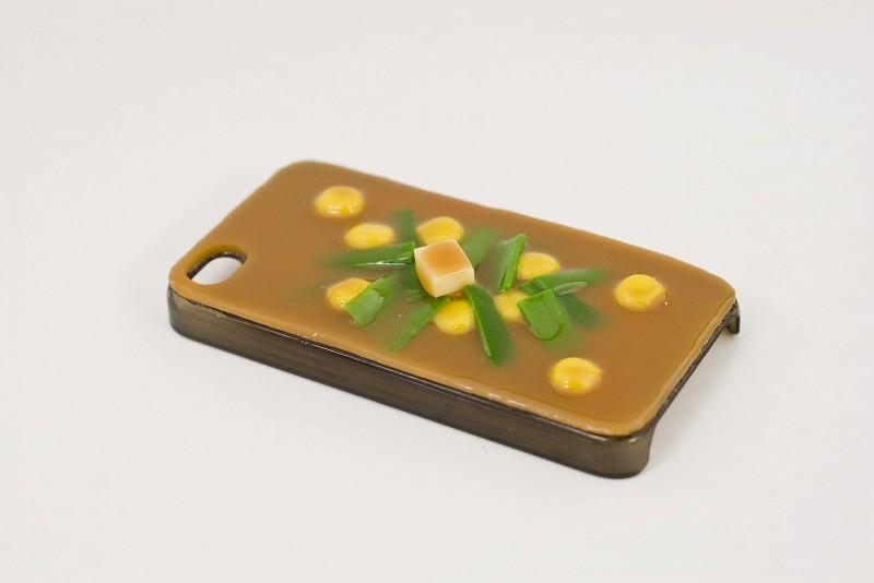 味噌汁・コーン&ニラ iPhone 4/4S ケース