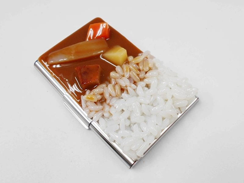 Curry Rice Business Card Case