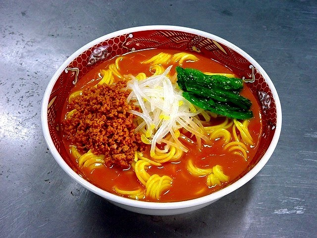 坦々麺 食品サンプル