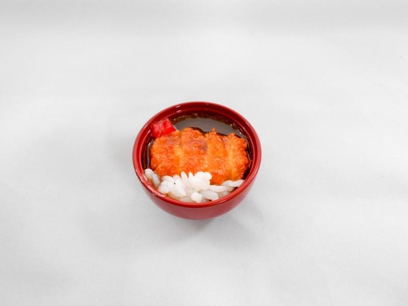 カツカレー丼  ミニ椀