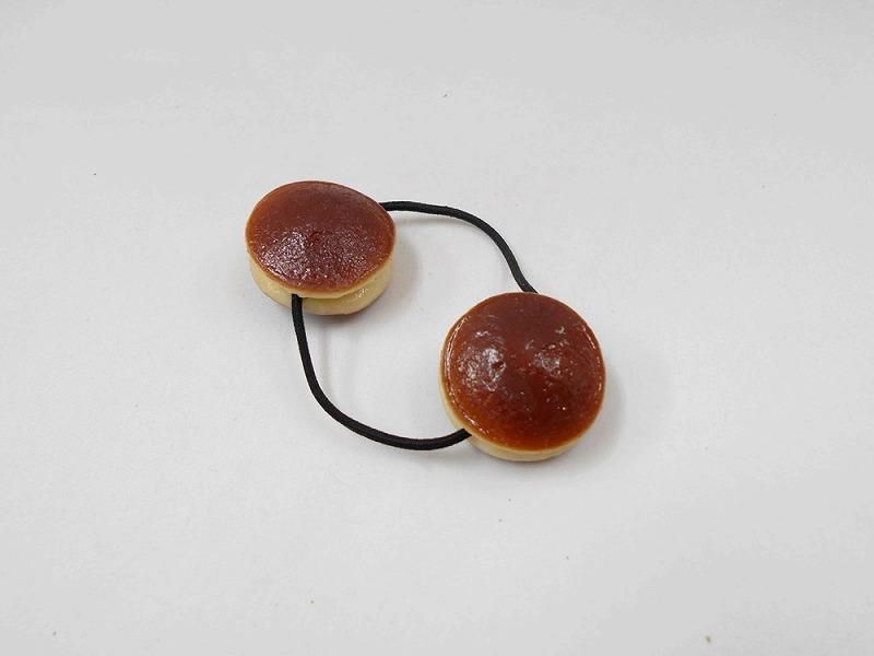 Dorayaki (Red-Bean Pancake) Hair Band (Pair Set)