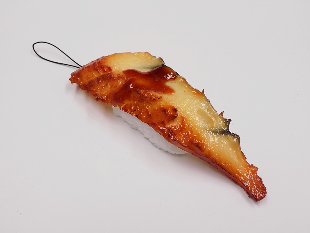 Eel Sushi Cell Phone Charm/Zipper Pull