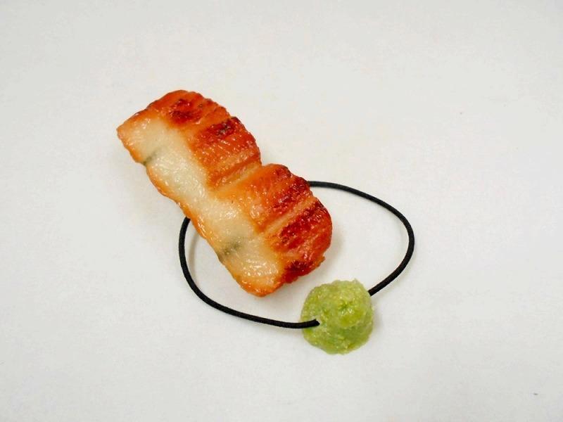 Eel Sushi with Wasabi Hair Band