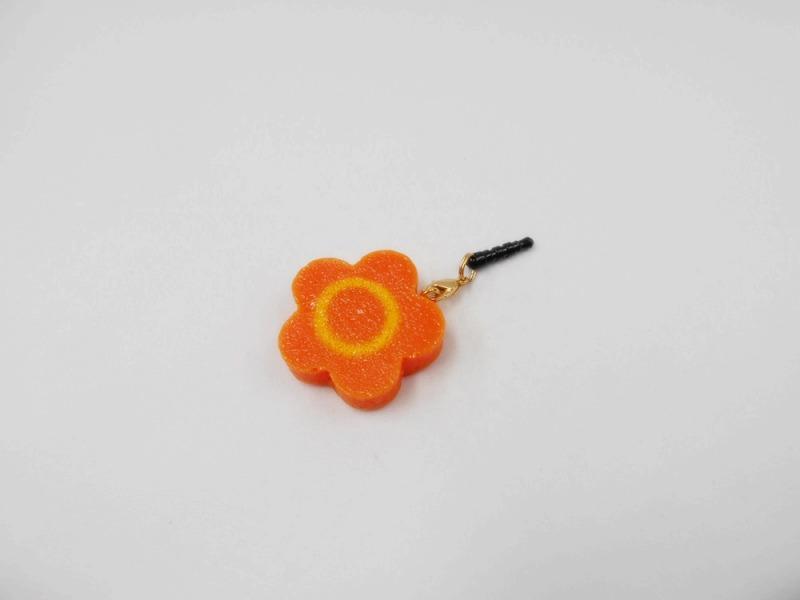 Flower-Shaped Carrot Ver. 1 Headphone Jack Plug