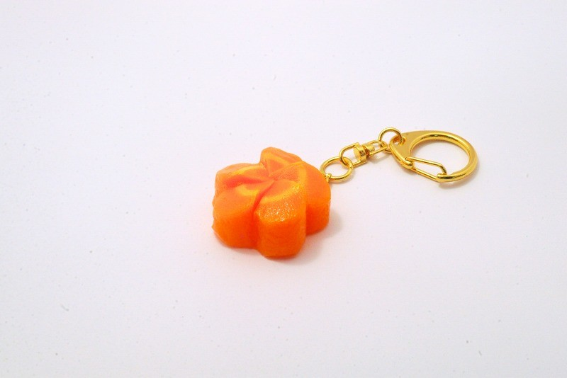 Flower-Shaped Carrot Ver. 2 Keychain
