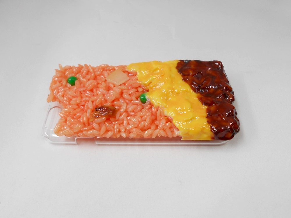 Fried Rice Omelette with Demi-Glace Sauce (new) iPhone 8 Plus Case