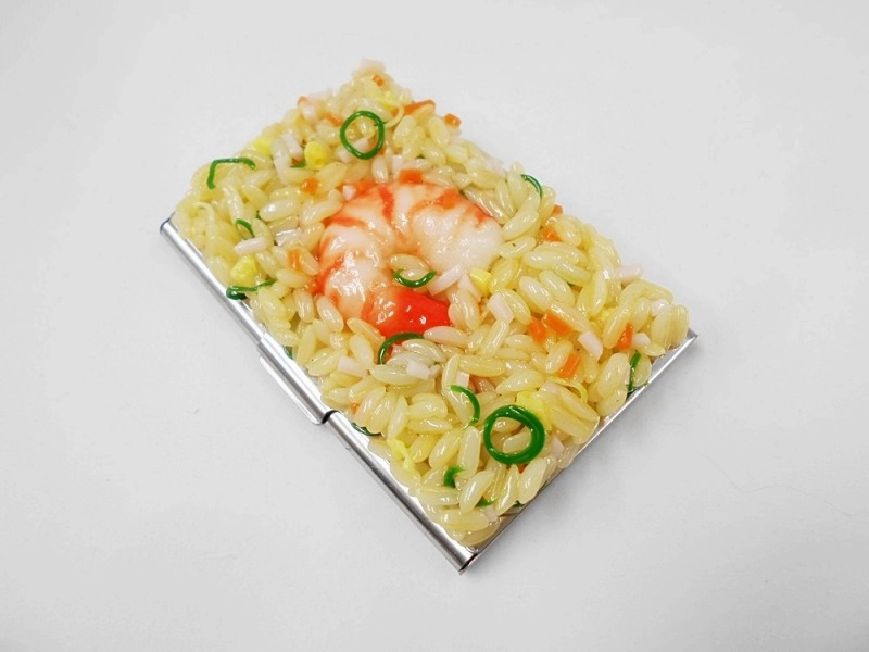 Fried Rice with Shrimp Business Card Case