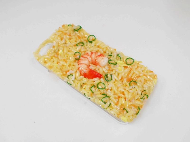Fried Rice with Shrimp iPhone 4/4S Case
