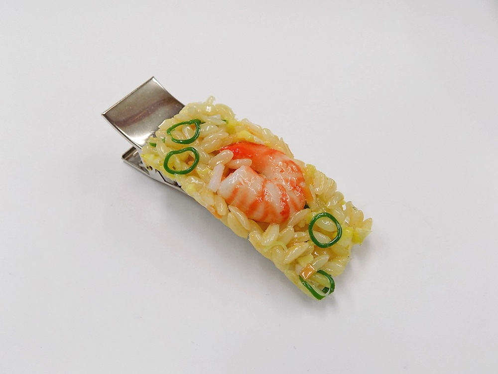 Fried Rice with Shrimp (large) Hair Clip