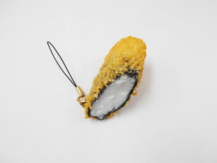 Fried Seaweed with Yam Filling Cell Phone Charm/Zipper Pull