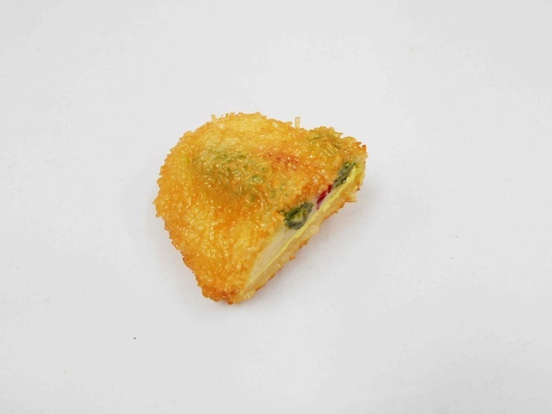 Fried Vegetables with Cheese Filling Magnet