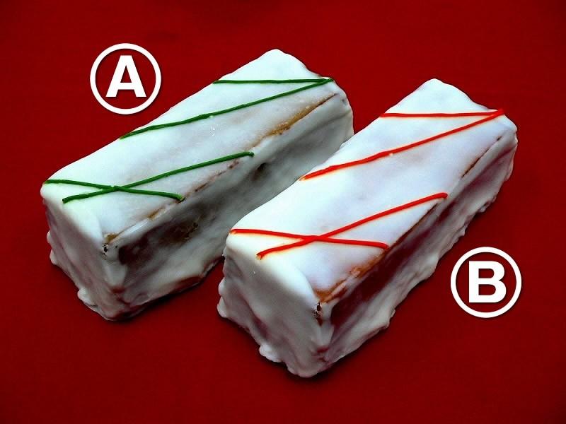 パウンドケーキ2種 食品サンプル