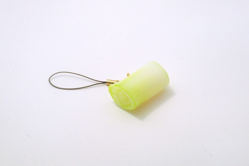 Green Onion Cell Phone Charm/Zipper Pull