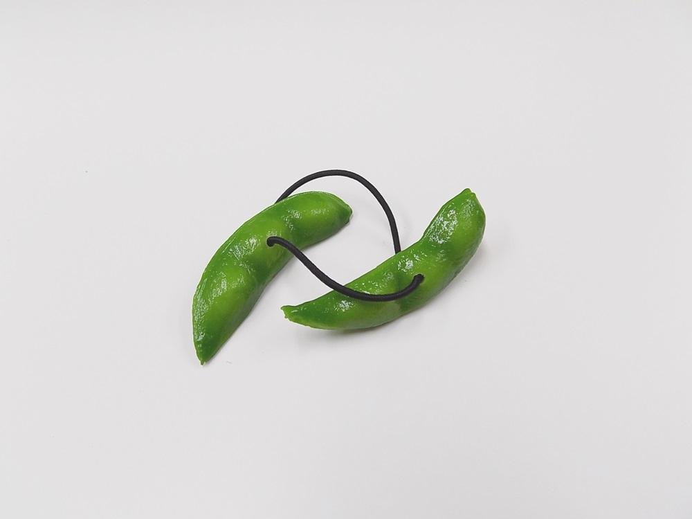 Green Soybean Hair Band (Pair Set)
