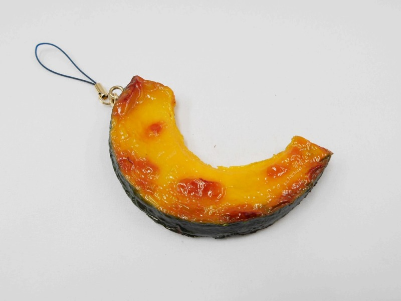 Grilled Pumpkin Cell Phone Charm/Zipper Pull