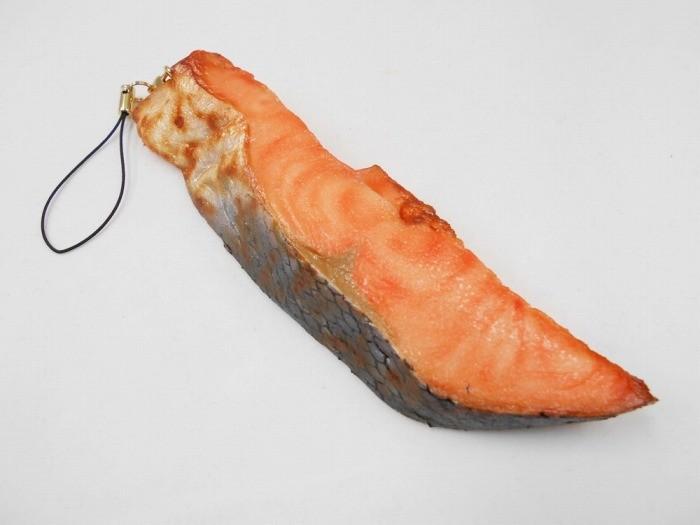 焼鮭切身・大 ストラップ