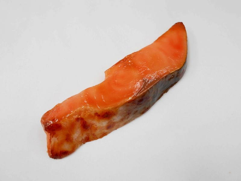 Grilled Salmon (large) Magnet