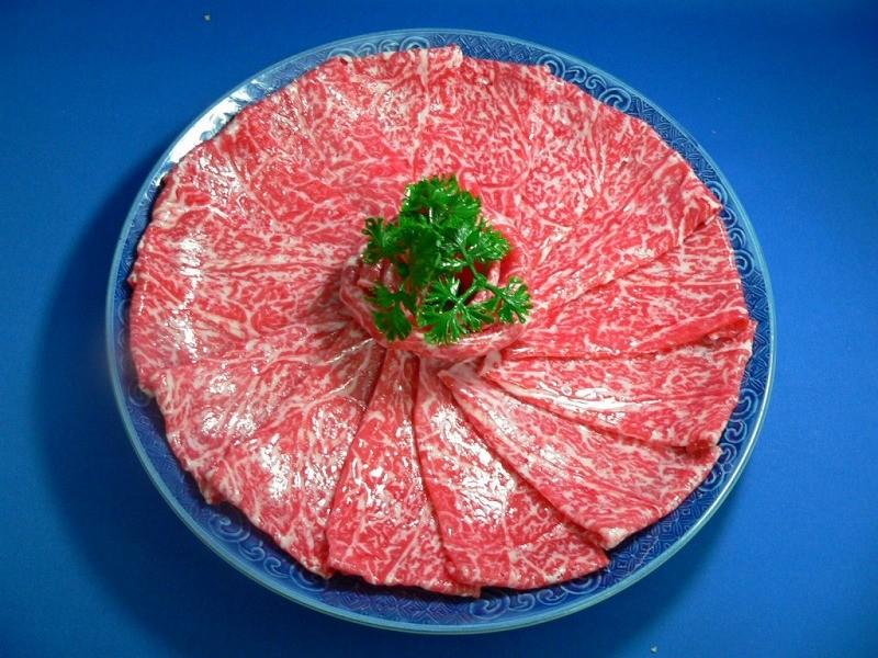 しゃぶしゃぶ牛肉 食品サンプル