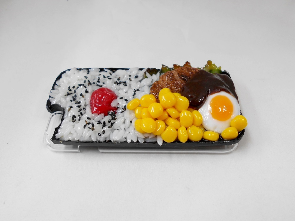 Hamburger Bento (new) iPhone 8 Case