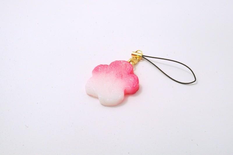 Hanafu (Flower Shaped Wheat Gluten) Cell Phone Charm/Zipper Pull