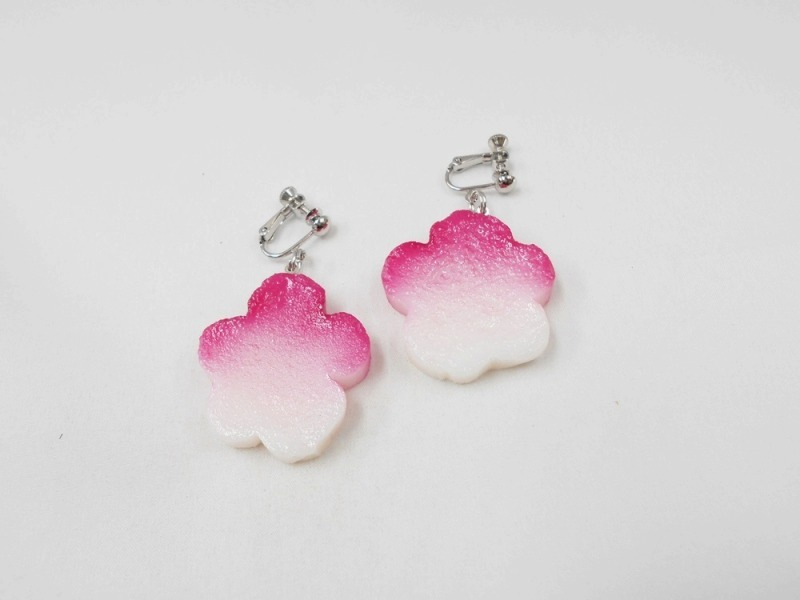 Hanafu (Flower Shaped Wheat Gluten) Earrings