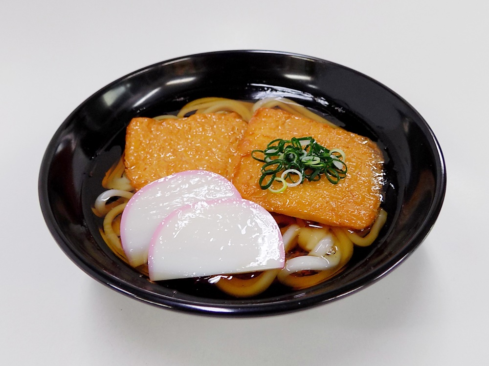 Kitsune Udon (Udon Noodles with Fried Tofu) Replica