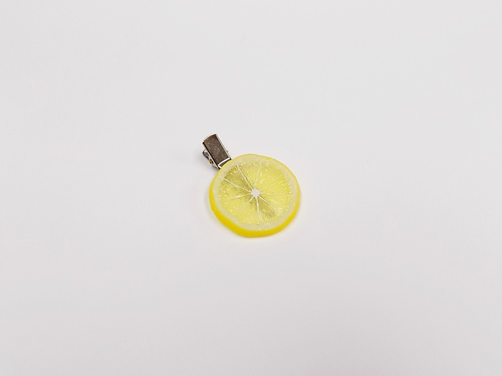 Lemon Slice (small) Hair Clip