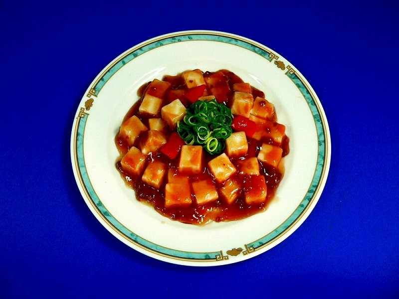 麻婆豆腐 食品サンプル
